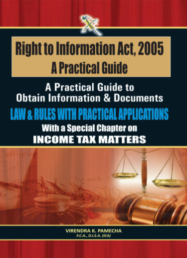 Right to Information Act 2005 – A Practical guide