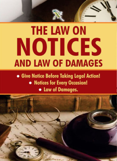 The Law on Notices & Law of Damages (Give Notice before taking Legal Action!)