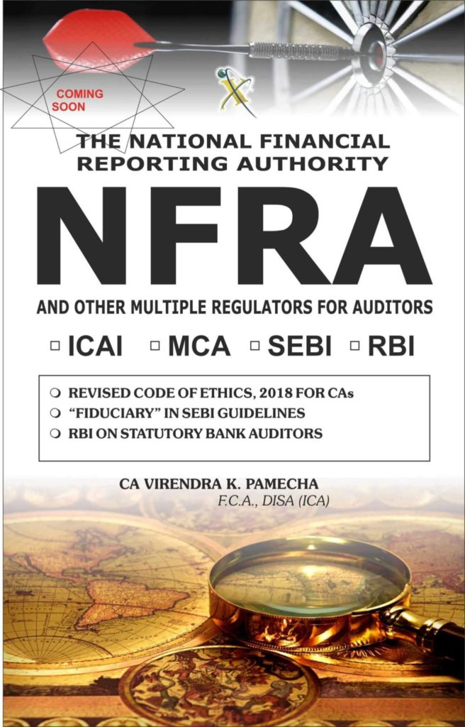 The National Financial Reporting Authority Nfra And Other Multiple Regulators For Auditors And Chartered Accountants Xcess Infostore Private Limited